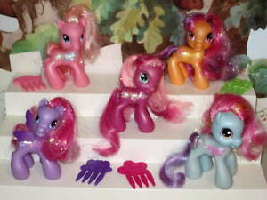 My Little Pony G3 5 Lot 36 Sparkle Cheerlee Starsong Tootaloo Rainbow Dash Ebay