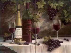 Ceramic-Tile-Mural-Backsplash-Chiu-Wine-Grape-Art-EC-TC007