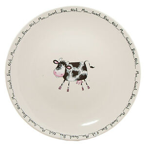 Image is loading Home-Farm-Dinner-plate-cow-plate-SET-OF-  sc 1 st  eBay & Home Farm Dinner plate cow plate SET OF 4 OR 6 | eBay