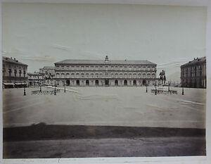 Italia Napoli Palais Royal Foto Amodio Albumina Vintage, Ca 1875