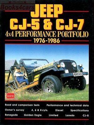 Jeep Cj Rebuilders Manual 1972-1986 Cj5 Cj6 Cj7 Cj8 Scrambler 5 6 7 Restoration