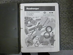 Eaton Fuller RTO Roadranger Transmission Shop Service Repair