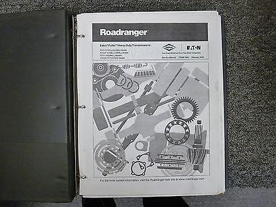 Eaton Fuller RTO Roadranger Transmission Shop Service Repair
