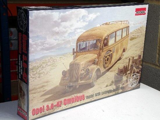 Roden 1 35 808 Opel 3.6-47 Omnibus model W39 Ludewig-built, late