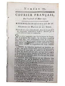 Issy l'Eveque en 1791 Melle Beauvais Auch Sarrebourg Révolution Robespierre