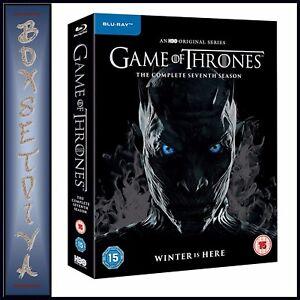Game Of Thrones Complete Season 7 Seventh Season Brand New Blu Ray 5051892208635 Ebay