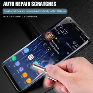 brand new 44149 b2ab0 Details about Phone Full Screen Cover Hydrogel Protector Film for Samsung  Galaxy S7/EDGE/8Plus