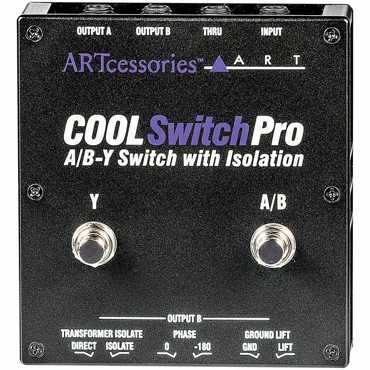 ART CoolSwitch Pro A B-Y Switch with Isolation NEW  Free 2-Day Delivery