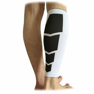 0e36c71b42 Image is loading Compression-Calf-Sleeves-Sports-Running-Leg-Foot-Support-