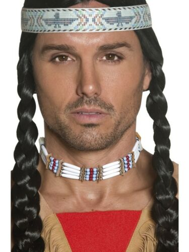 Authentic Western Indian Choker Adult Smiffys Fancy Dress Costume Accessory