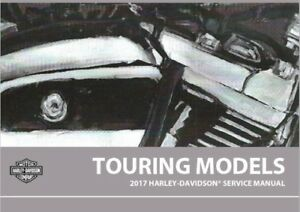 Details about 2017 Harley Touring Service Manual Repair with Electrical on