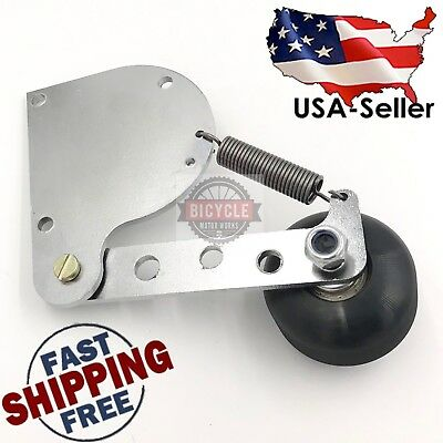 Motorized Bicycle Spring Chain Tensioner Engine Mount for 49cc 80cc 66cc Engines