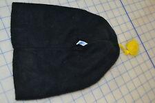 kids skull cap hoodie ski cold winter black yellow tassel super thick very warm
