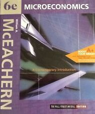 microeconomics by McEACHERN 6th edition With Extra Practice CD