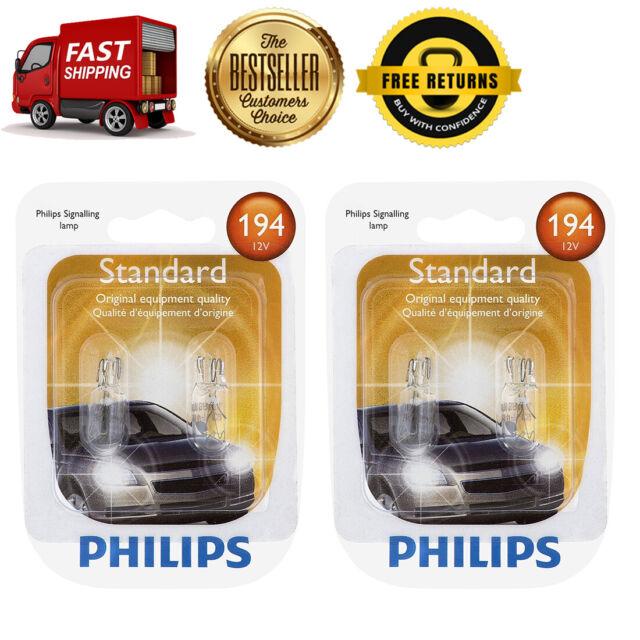 Philips 4X Miniatures Standard Side Marker Light Bulb Rear