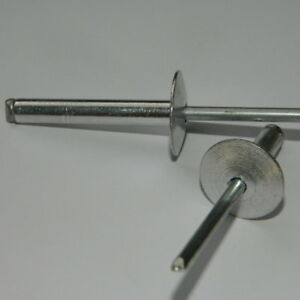 Blindnieten 3,0x10 Alu//Stahl  Senkkopf  3x10 Standard Nieten OG 500 Stk