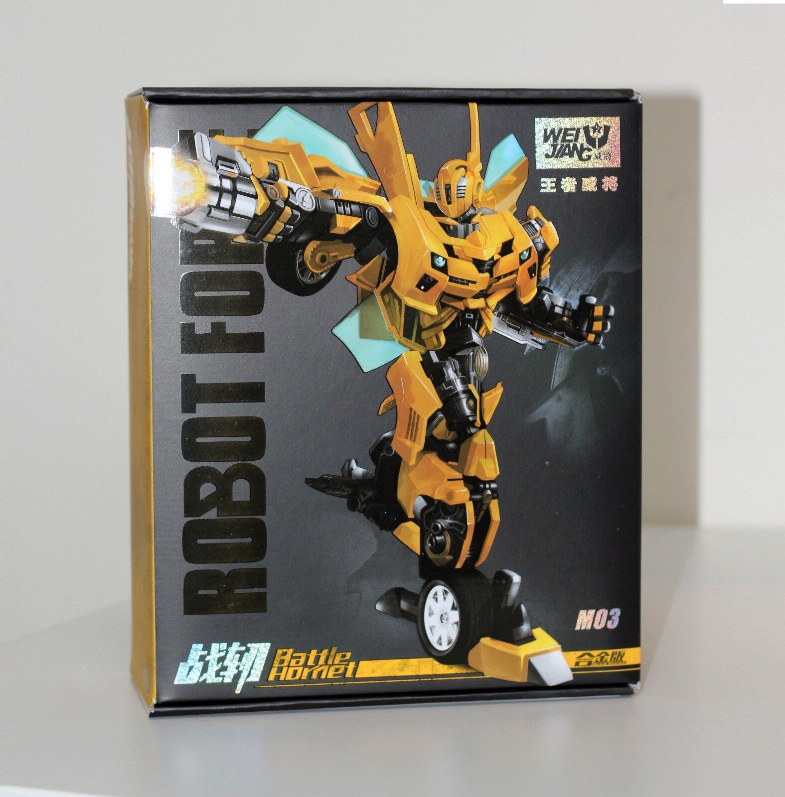 WEIJIANG M03 Battle Hornet Battle Blades Bumblebee Transformers Movie