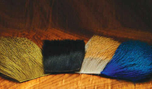 lot available DEER HAIR Premium Dyed Deer Body Hair Fly Tying Spinning Wings