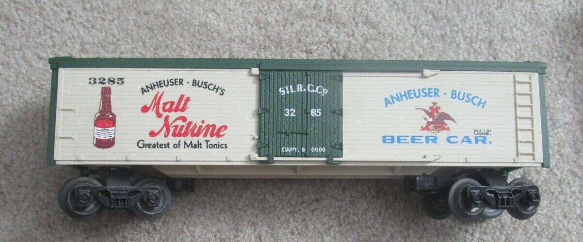 616805 Anheuser autobusch Malt Nutrine  3285 Lionel