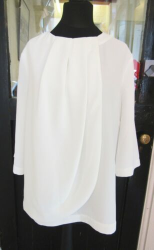 various sizes GREAT PLAINS ivory 3//4 sleeved blouse Brand New