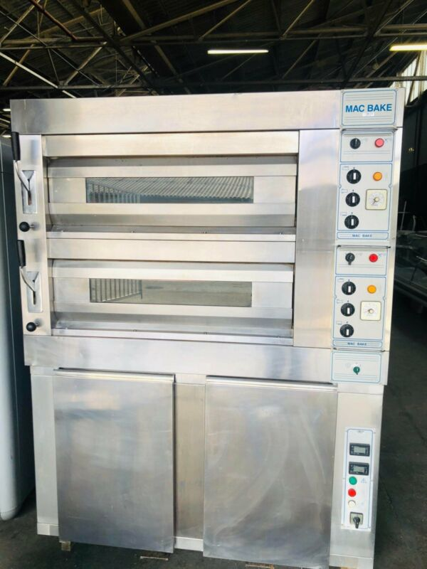 MAC BAKE DOUBLE DECK OVEN AND PROOVER