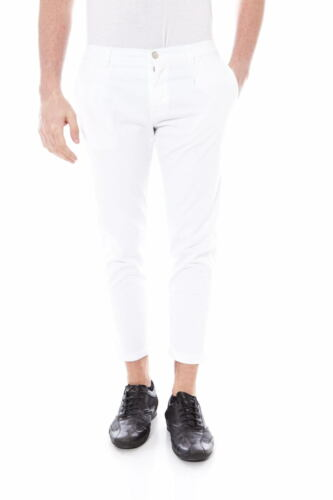 2 Uomo Trouser Jeans Alessandrini Pantaloni Bianco Daniele Pj2746l100m3302 nqH01Pa