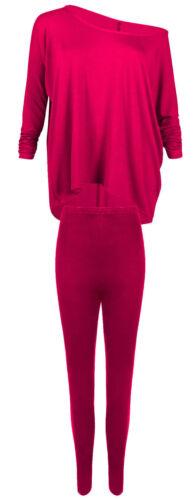 Women Long Sleeve Baggy Tops Loungewear Tracksuit Set Jogging Suit Legging Pants