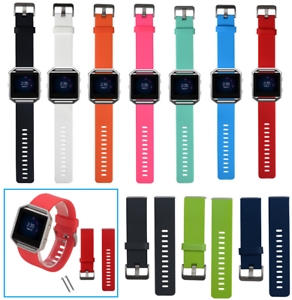 Silicone-Band-Wristband-Bracelet-Strap-with-Buckle-for-Fitbit-Blaze-Smart-Watch