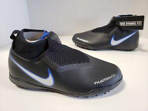 2cab4b84859f NIB Nike JR Phantom VSN Vision Academy DF TF Black Metallic Silver ...