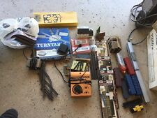HO Scale Train Lot With 2 Engines, Track, Turntable, Accesories & N Scale Items