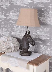 Lampe-De-Table-Cheval-Style-Colonial-Tete
