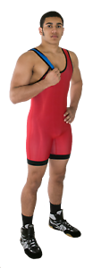 Matman Wrestling#8Hi-Cut Reversible SingletFreestyleGreco Roman