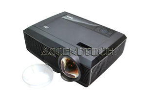 DELL-S300-1280x800-WXGA-2200-ANSI-LUMENS-240W-VGA-HDMI-DLP-FRONT-PROJECTOR-HXY11