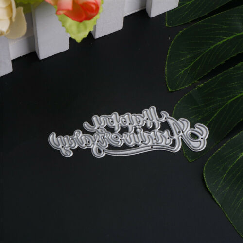 Pip happy anniversary Metal Cutting Dies Stencil Scrapbooking Photo Album B$C LL