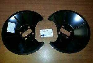 FORD-FOCUS-RS-MK1-2002-2004-REAR-BRAKE-DISC-SHIELD-SET-GUARD-SET-NEW