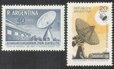 Argentina 1969 Radio/Satellite/Dish Aerial/Communications/Telecomms 2v (n39627)