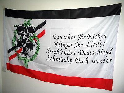 Flagge Fahne Rauschet Ihr Eichen Hissflagge 90 x 150 cm