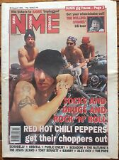 NME 20/8/94 Red Hot Chili Peppers cover, Rolling Stones, Jesus Lizard, Echobelly