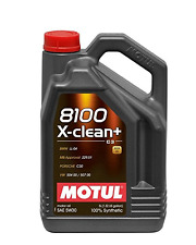 MOTUL OLIO 8100 X CLEAN PLUS + 5W30 5 LT AUDI BMW MERCEDES SEAT SKODA PORSCHE C3