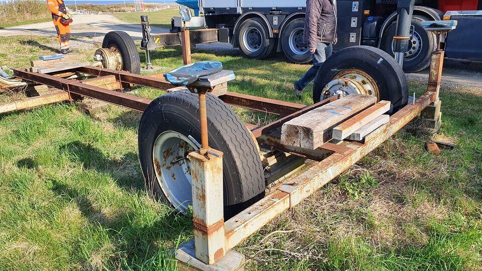 Bådvogn, har været brugt til 41 fods motorbåd p...