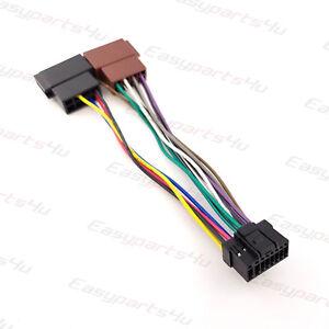 panasonic wiring harness ebay iso adapter panasonic cq fx35 55 75 95 44 355 555 wire harness  iso adapter panasonic cq fx35 55 75 95