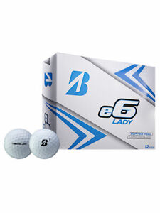 Bridgestone-e6-Lady-Golf-Balls-1-Dozen-White-Ladies