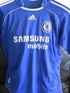 low priced 83720 7e295 Details about Chelsea FC - Home Shirt - 2006/07 - Size 34