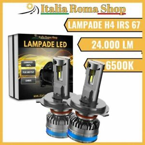 LAMPADE LED H4 MOD IRS67 24000 LUMEN ABBAGLIANTE ANABBAGLIANTE