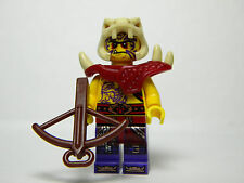 LEGO Ninjago GENERAL ZUGU Minifigure + Weapon BRAND NEW 70749 Enter the Serpent