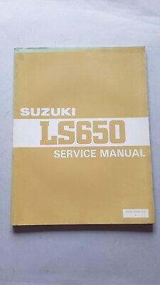 Bellissimo Suzuki Ls 650 1986 Manuale Officina Originale Workshop Manual Fissare I Prezzi In Base Alla Qualità Dei Prodotti