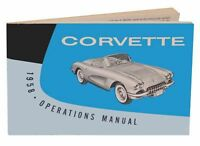 1958 Owners Manual Corvette - - We Ship World Wide -
