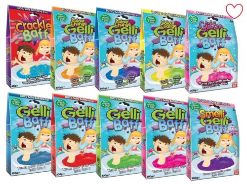 Gelli Baff Crackle Bath Pool Party Funtime Boys Girls Gift
