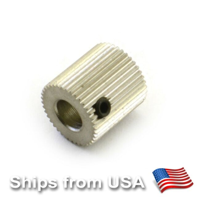 MK7 Stainless Steel Extruder-Drive Gear Hobbed Gear For Reprap 3D Printer