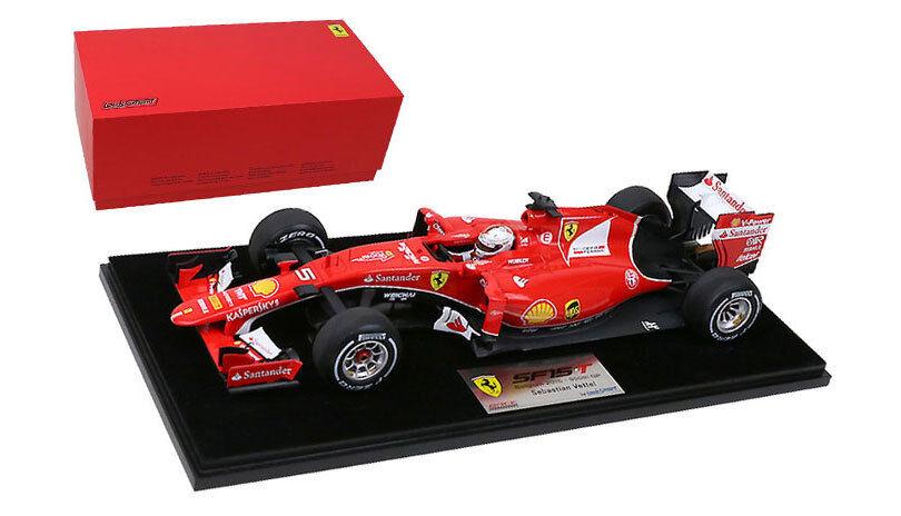 Looksmart Ferrari SF15-T '900 GP' Belgium GP 2015 - Sebastian Vettel 1 18 Scale